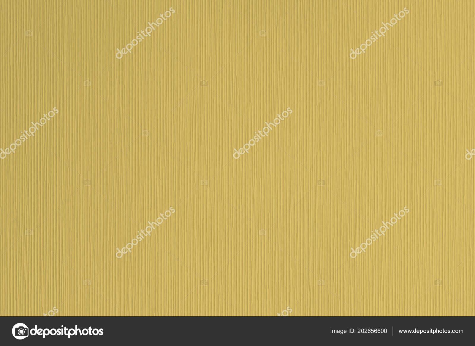 Mustard Yellow Textured Corrugated Striped Wallpaper Background