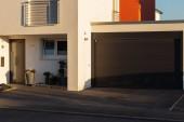 Carport Garage des Eingangsbereichs moderne Häuser