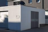 Fotografie Carport Garage des Eingangsbereichs moderne Häuser