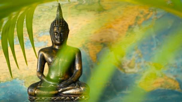 Világtérkép. Utazás felfedezni koncepció. Absztrakt utazási Asia háttér-val másol hely.