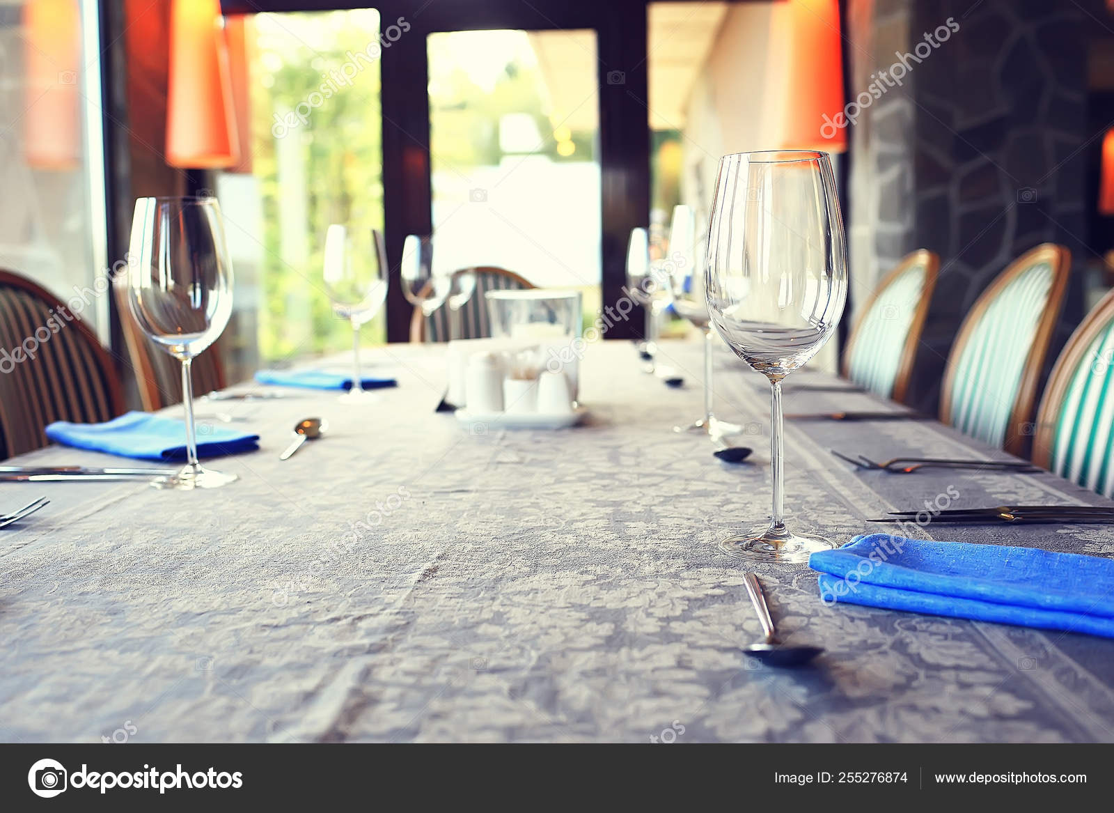 French Restaurant Background Food Concept French Cuisine Serving Cafe Stock Photo C Xload 255276874