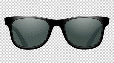 sun glasses vector illustration realistic