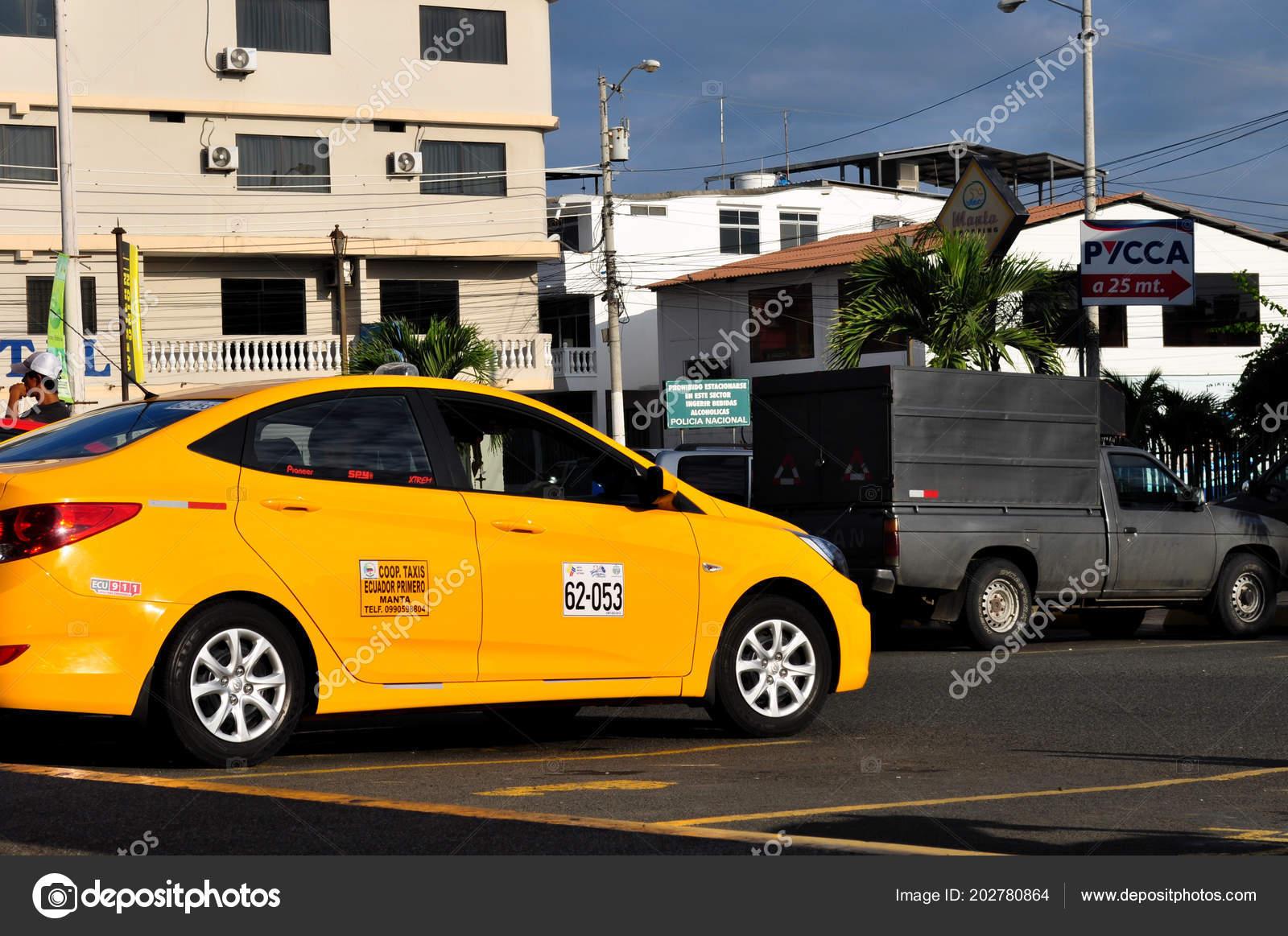 Manta Ecuador March 2015 View Taxi City Manta Ecuador