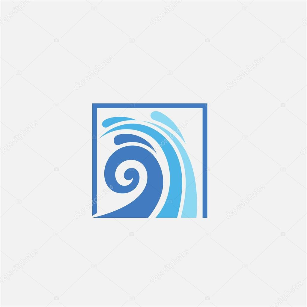Frame wave vector logo