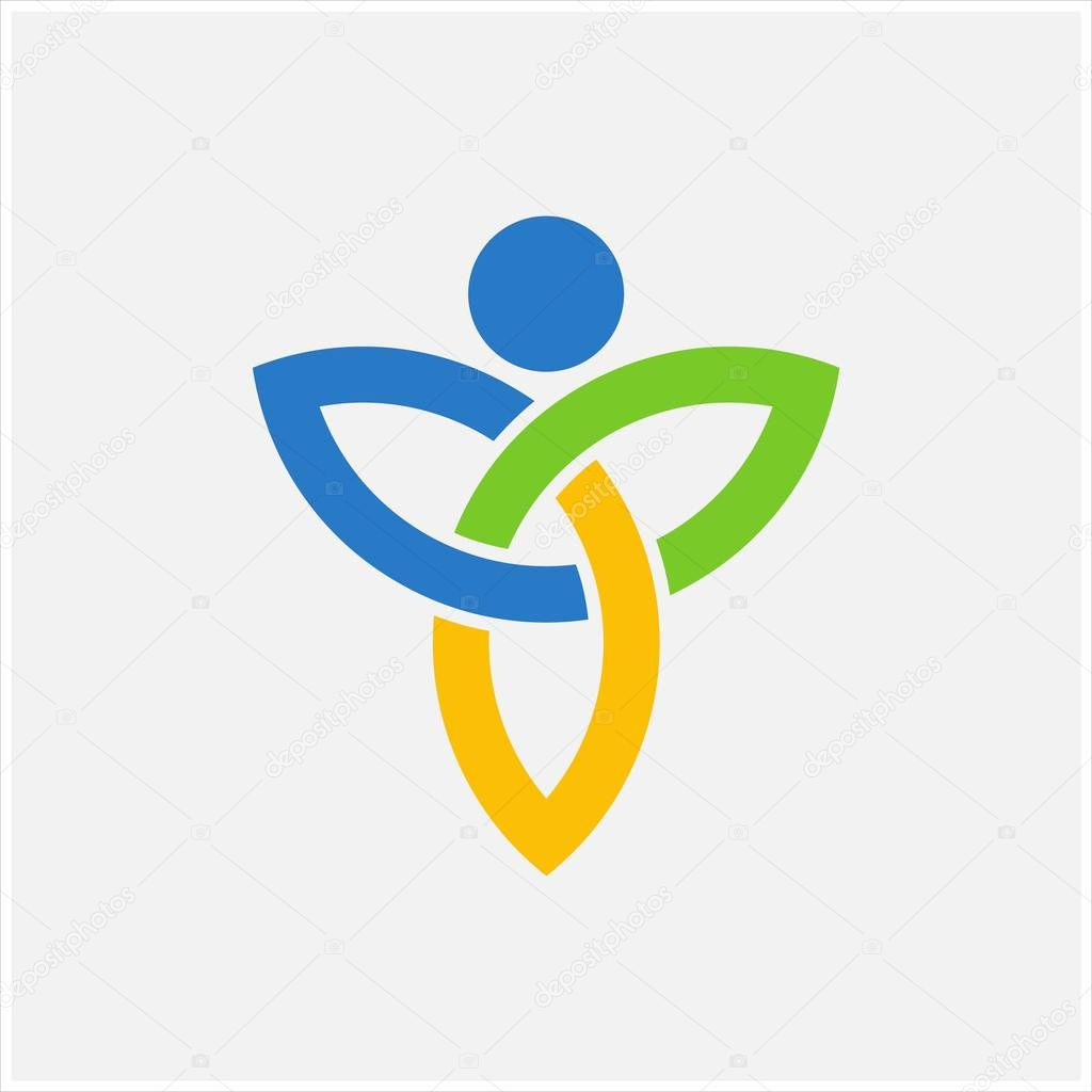 Soul infinity vector logo