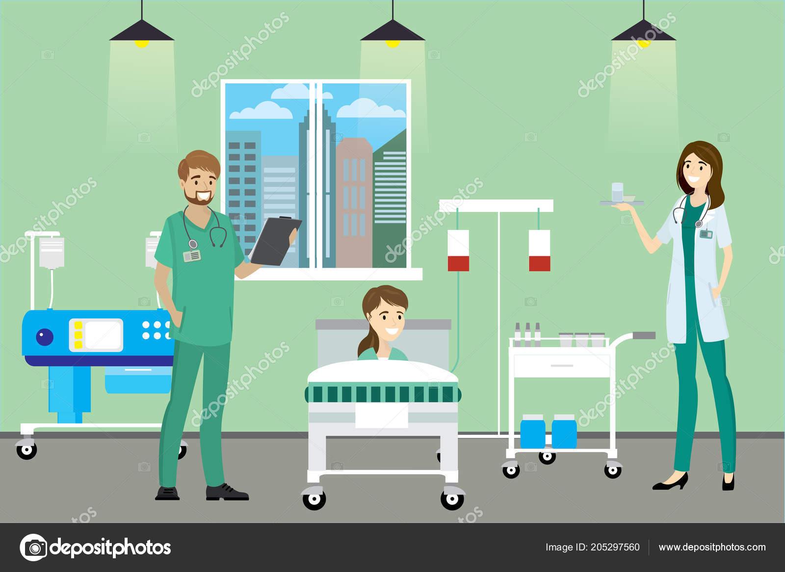 cartoonish hospital room best clipart gallery
