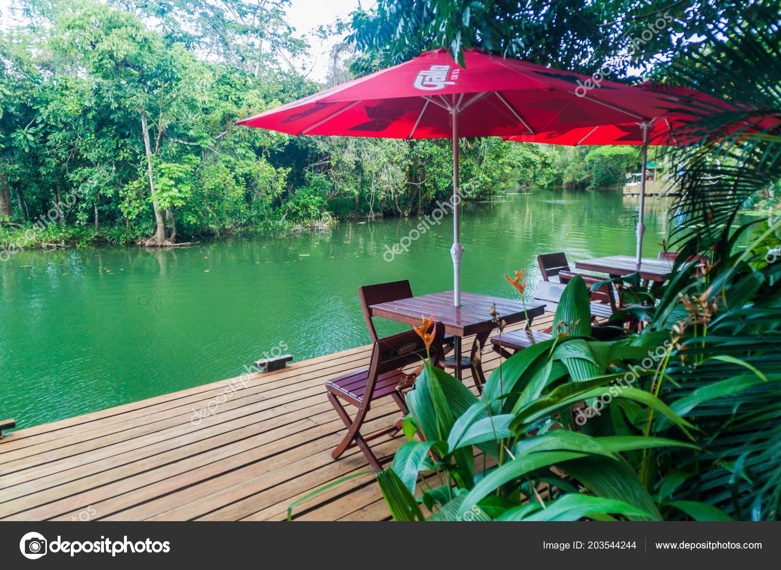 Rio Dulce Guatemala Marzo 2016 Riverside Terraza Hotel
