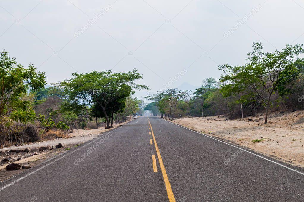 Road near Somoto, Nicaragua