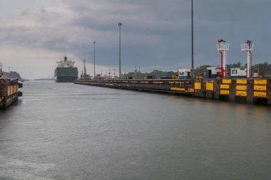 Gatun Locks, part of Panama Canal