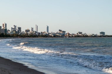 View of a beach in Joao Pessoa, Brazil
