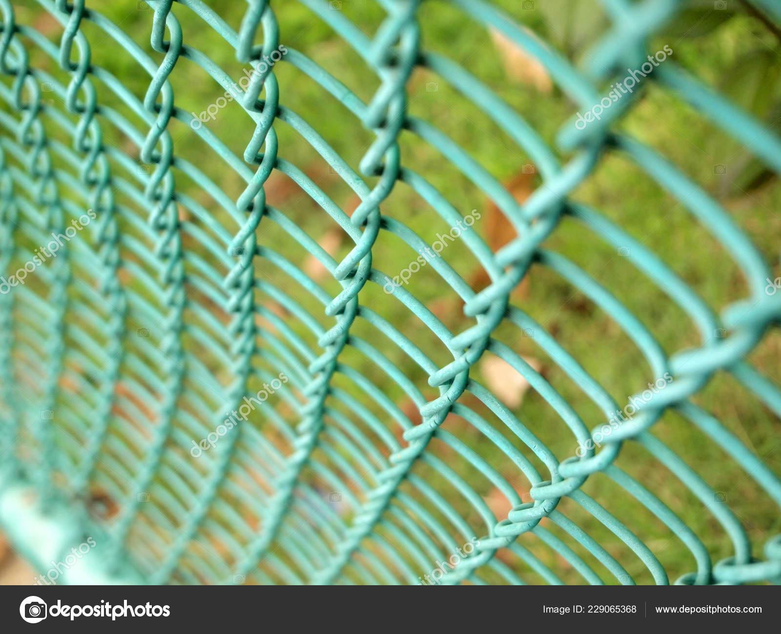 Kette Zaun Hautnah — Stockfoto © paisan191 #229065368