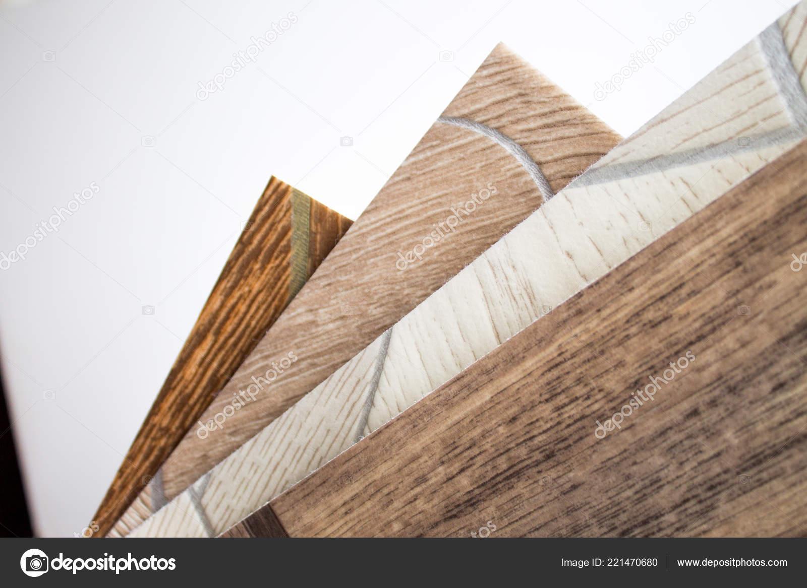 Linoleum monsters van vloeren met houtstructuur snijden grootte