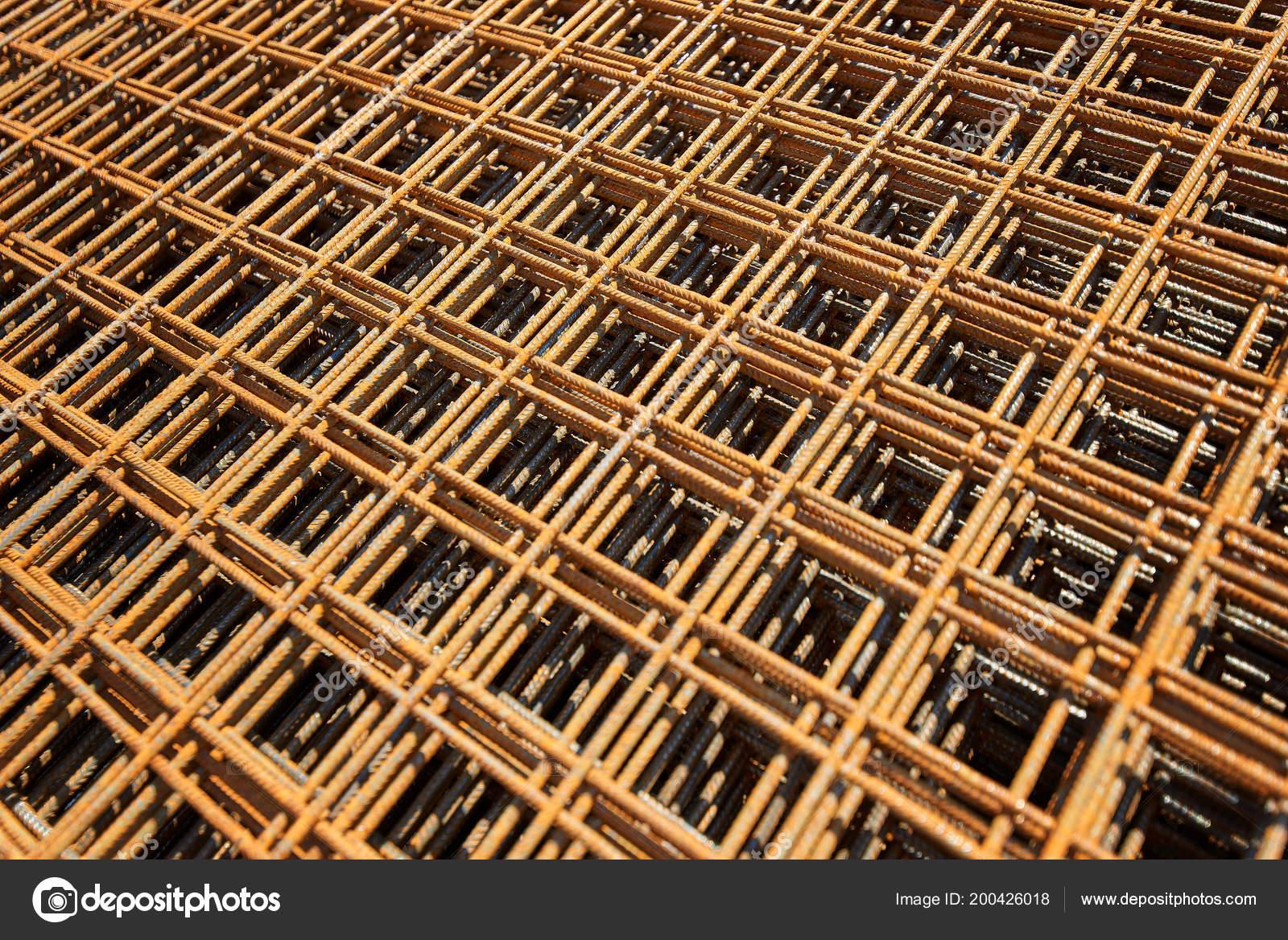 Wire Mesh Steel Rebars Reinforced Concrete Rebar Reinforcing