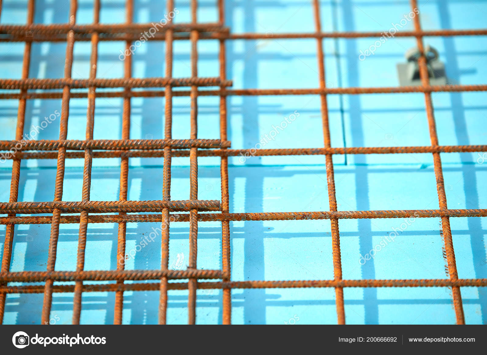 Floor Thermal Insulation Wire Mesh Steel Rebars Reinforced Concrete ...