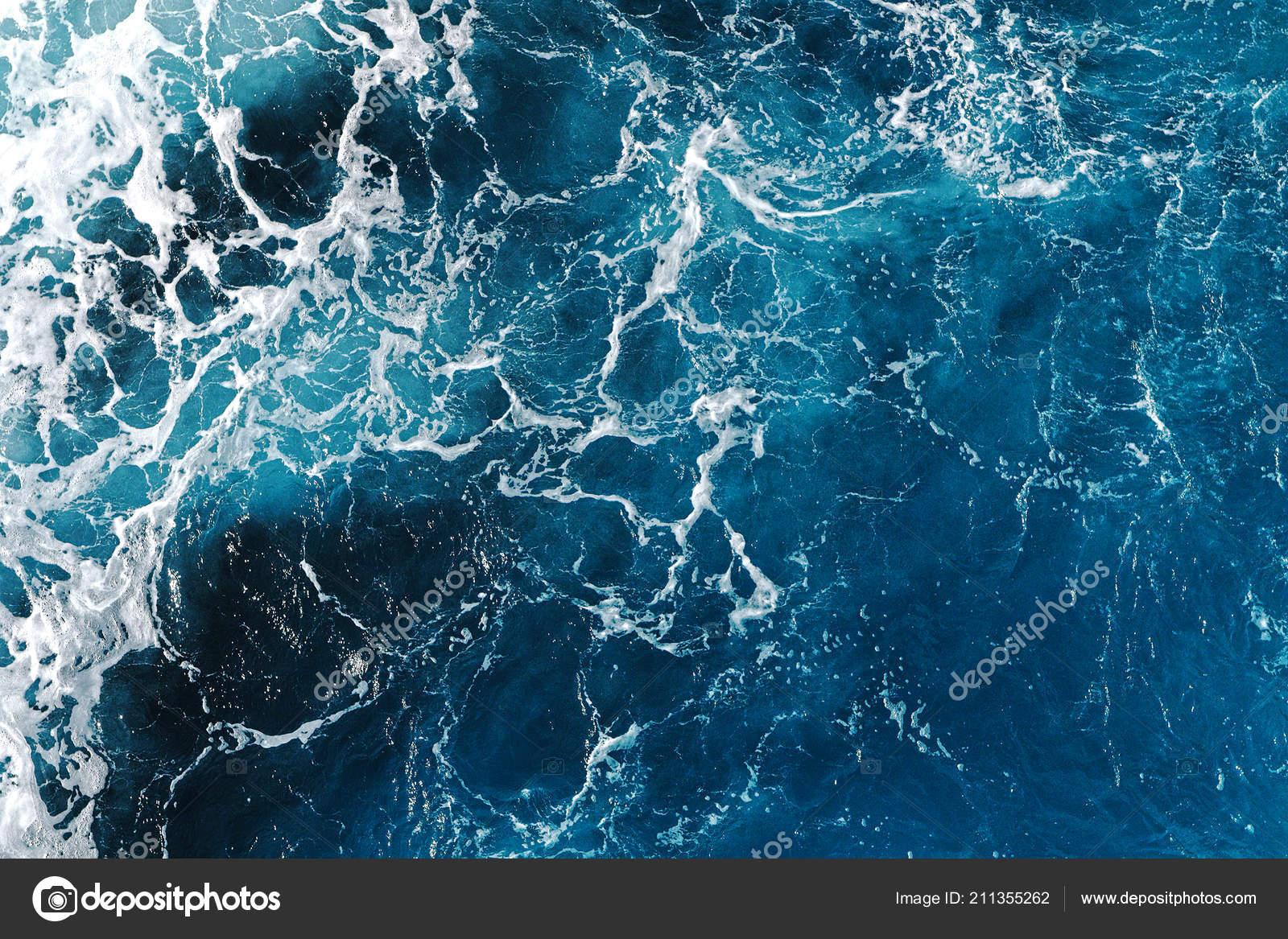 Blue Sea Water Texture Greece Natural Pattern — Stock ...  Ocean Water Pattern