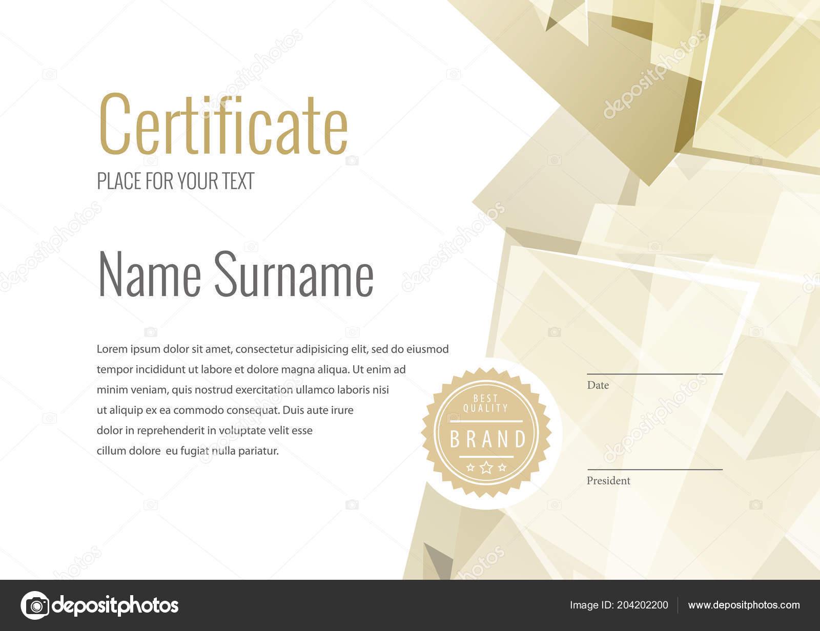 Zertifikat Vorlage Diplom Währung Grenze Award Hintergrund Geschenk ...
