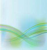 Modré abstraktní web design pozadí vektor