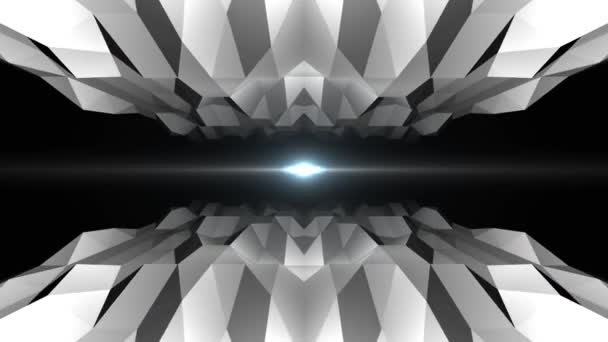 abstract low polygonal cave flight seamless loop animation background new unique retro beautiful dynamic cool nice joyful video footage