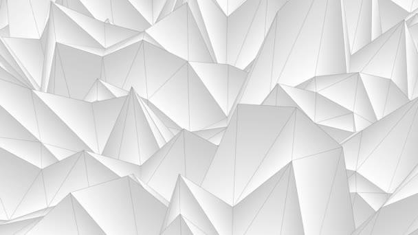 abstrakte niedrige polygonale Höhlenflug nahtlose Schleifenanimation Hintergrund neue einzigartige retro schön dynamisch cool schön freudig video