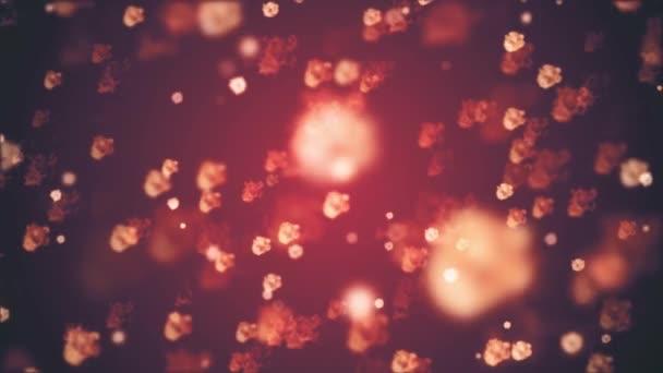 sok véletlen tüzes robbanás lángok animációs háttér új minőségű univerzális mozgás dinamikus animációs színes örömteli hűvös szép videofelvétel