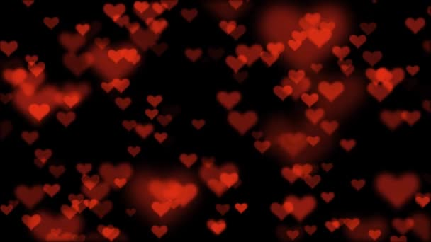 many heart shape like icon random moving fading animation background New unique quality universal motion dynamic colorful joyful dance music holiday video footage
