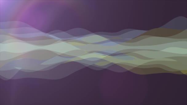 měkký mává abstraktní barevné Malování jemné proudění animace pozadí nové kvalitní dynamické umění pohybu barevné chladné pěkné krásné video záznam