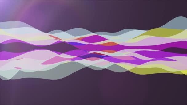 měkký mává abstraktní duhové barvy Malování jemné proudění animace pozadí nové kvalitní dynamické umění pohybu barevné cool pěkné krásné video záznam