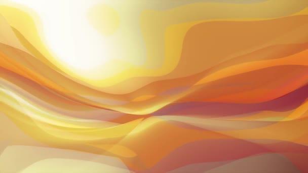 měkký mává abstraktní barevné Malování jemný tok animace pozadí nové kvalitní dynamické umění pohybu barevné Super pěkné krásné video záznam