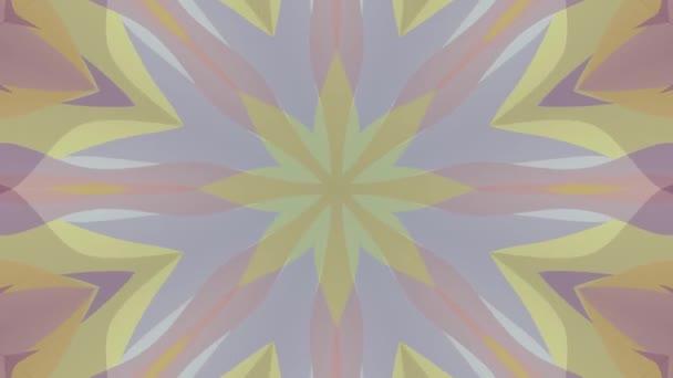 okrasné kaleidoskop pohyblivé obrazce vzor animace pozadí bezešvá smyčka nové kvalitní retro vinobraní dovolená tvar barevné univerzální motion dynamický animovaný radostné hudební video záběry