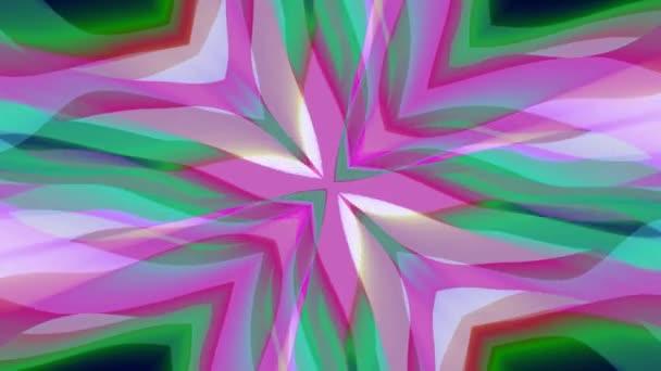 okrasné symetrické měkké barevné pohybující tvaru kříže vzor animace pozadí bezešvá smyčka nové kvalitní retro vinobraní dovolená tvar barevné univerzální pohybu dynamický animovaný radostné video záznam