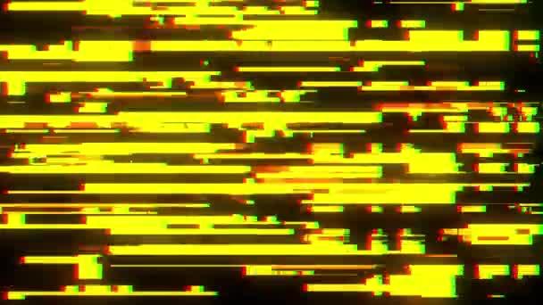 Rychlá porucha rušení pozadí obrazovky pro logo animace nové kvalitní digitální škubnutí technologie barevný videozáznam