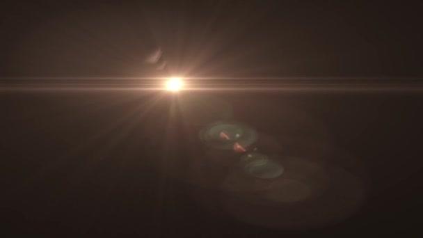 Sbiadisc cerchio completo movimento luci per stella marchio intro