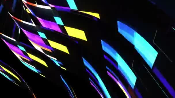 soft waving glitched stripes fabric abstract lines gentle flow seamless loop animation background new quality dynamic art motion colorful cool nice beautiful video 4k artistic stock footage