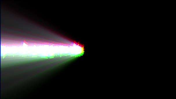 összetört fényes fény könnycseppet Motion Graphics logo animáció háttér új minőségi techno stílus színes hűvös szép gyönyörű 4k Stock videofelvétel