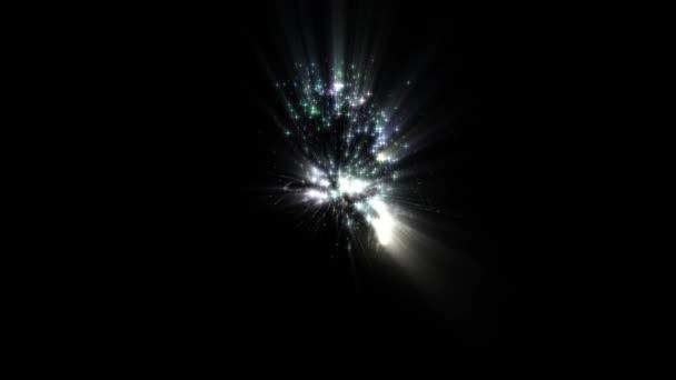 magie víla chomáč sparcle od 3 odpočítávání animace nová kvalita unikátní dovolená dynamické radostné 4k stock video záběry