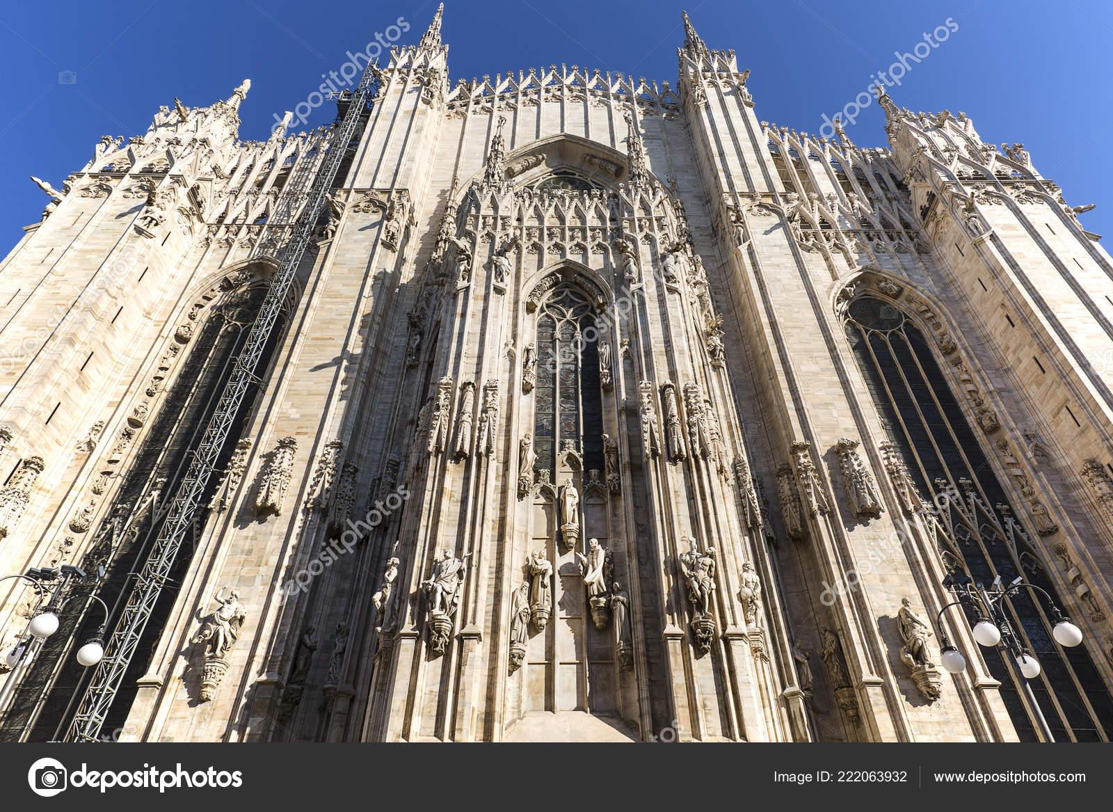 Milan Cathedral Duomo Milano Gothic Church Milan Italy Largest