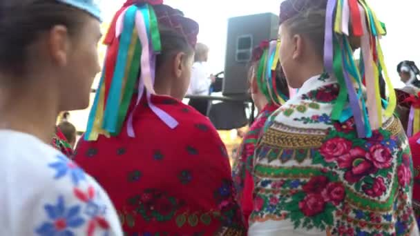 Zahájení festivalu Polesí léto s folklorní Luck Ukrajina 22.08.2018.