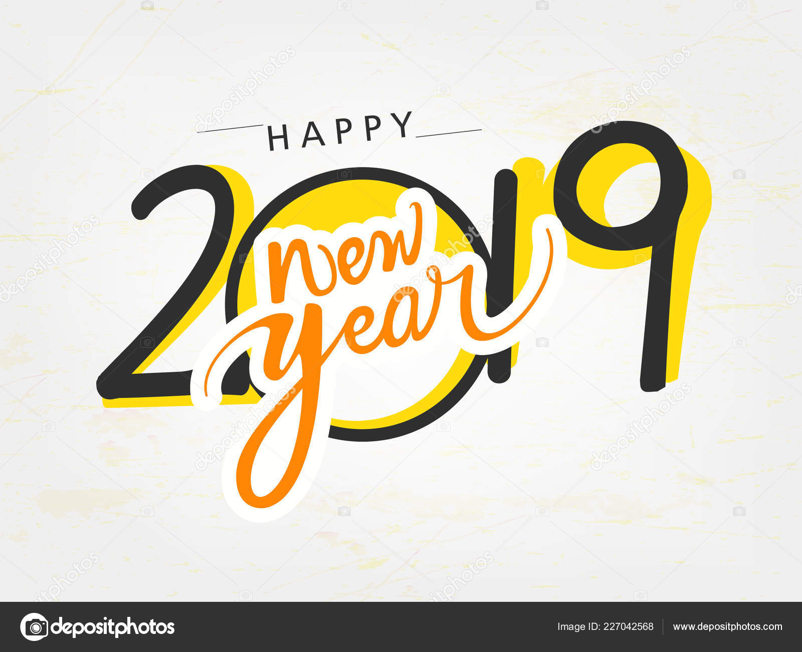 Happy New Year Lettering Design 56