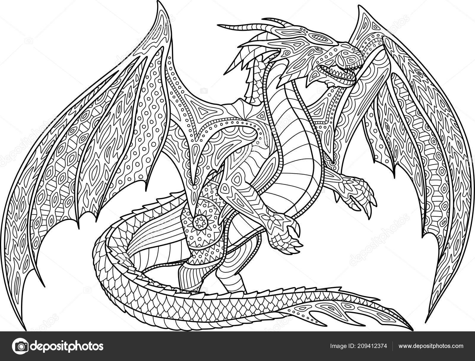 32 drachen malvorlagen für erwachsene  besten bilder von
