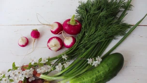 Domácí zelenina. Čerstvá organická zelenina. Zelenina ze zahrady. Barevná zelenina .