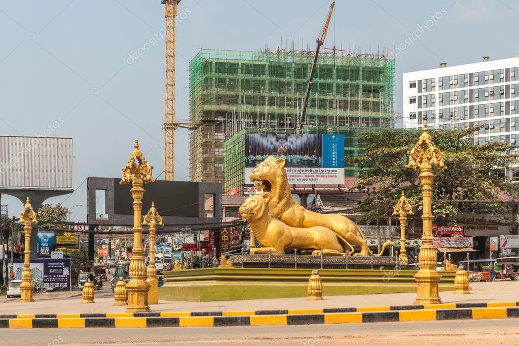 Cambodia lion midgettures mandy porno