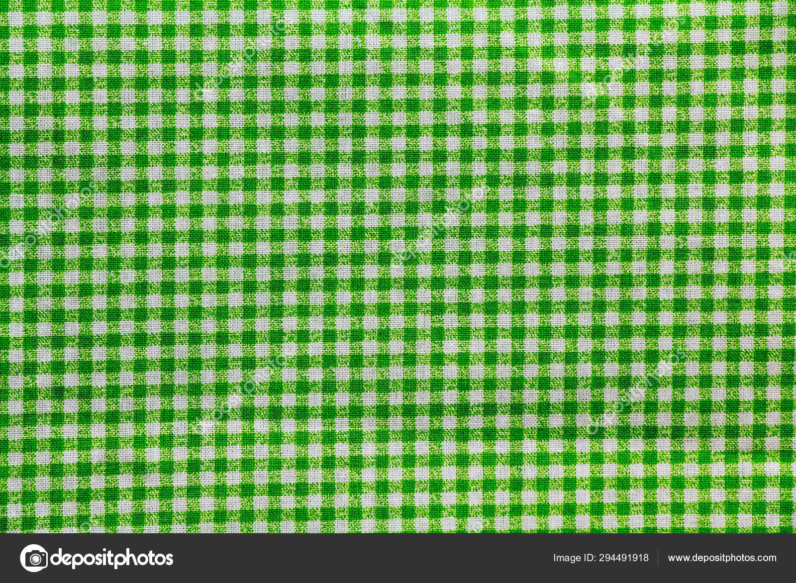 Green White Checkered Tablecloth Banner — Stock Photo © fozcan #294491918