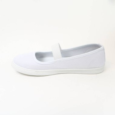 Women's demi-season shoes leather on white background