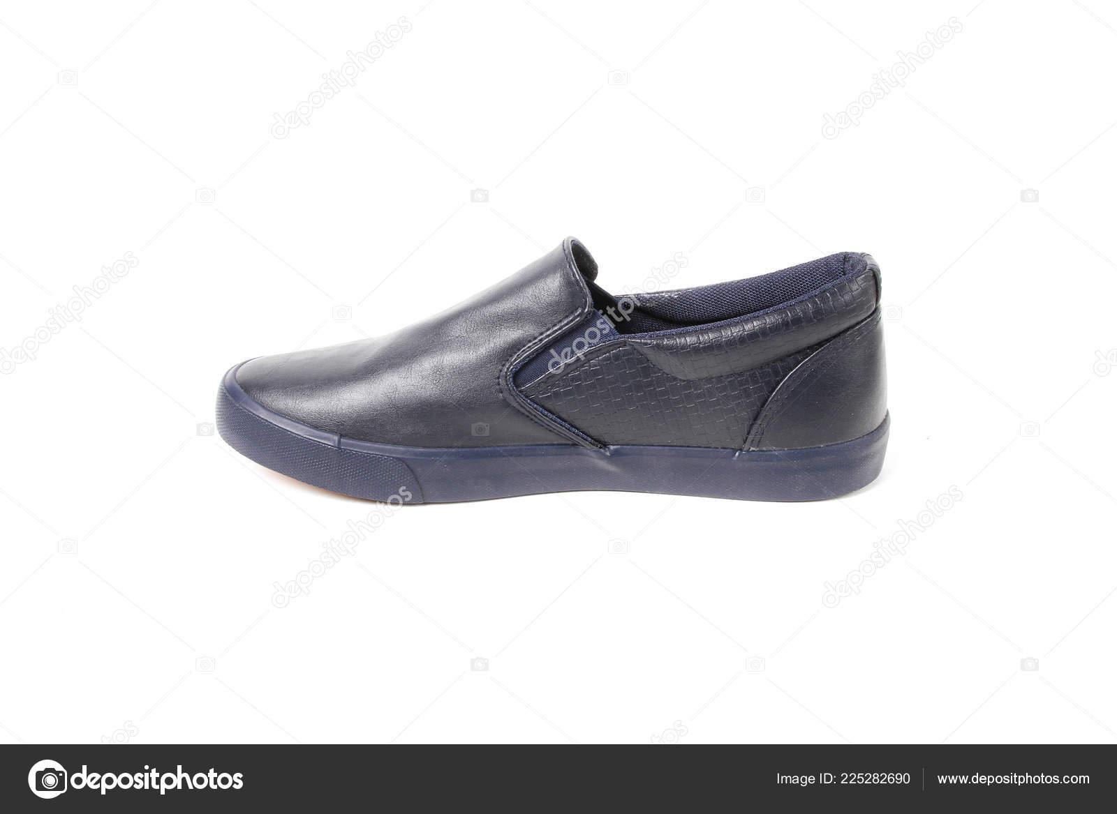 d05e25b47f Zapatos Hombre Causal Elegantes Sobre Fondo Blanco Pic Foto Agradable —  Foto de Stock