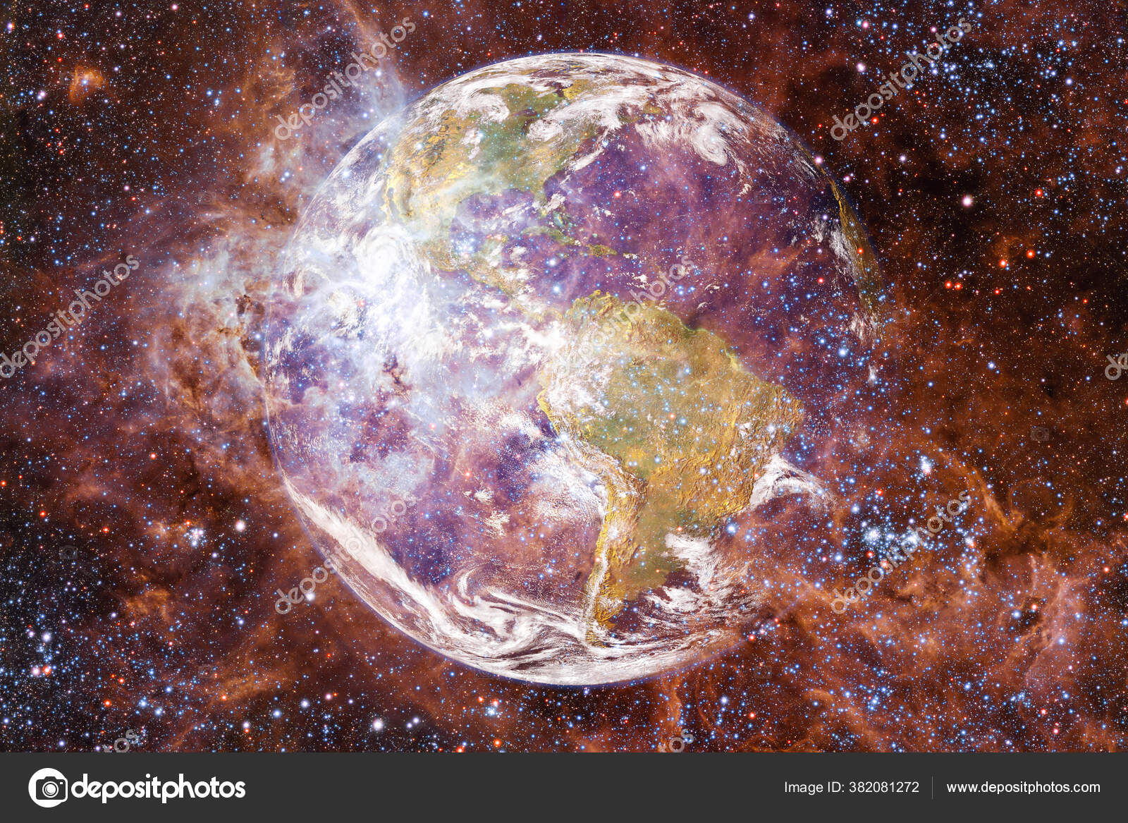 depositphotos 382081272 stock photo earth solar system awesome print