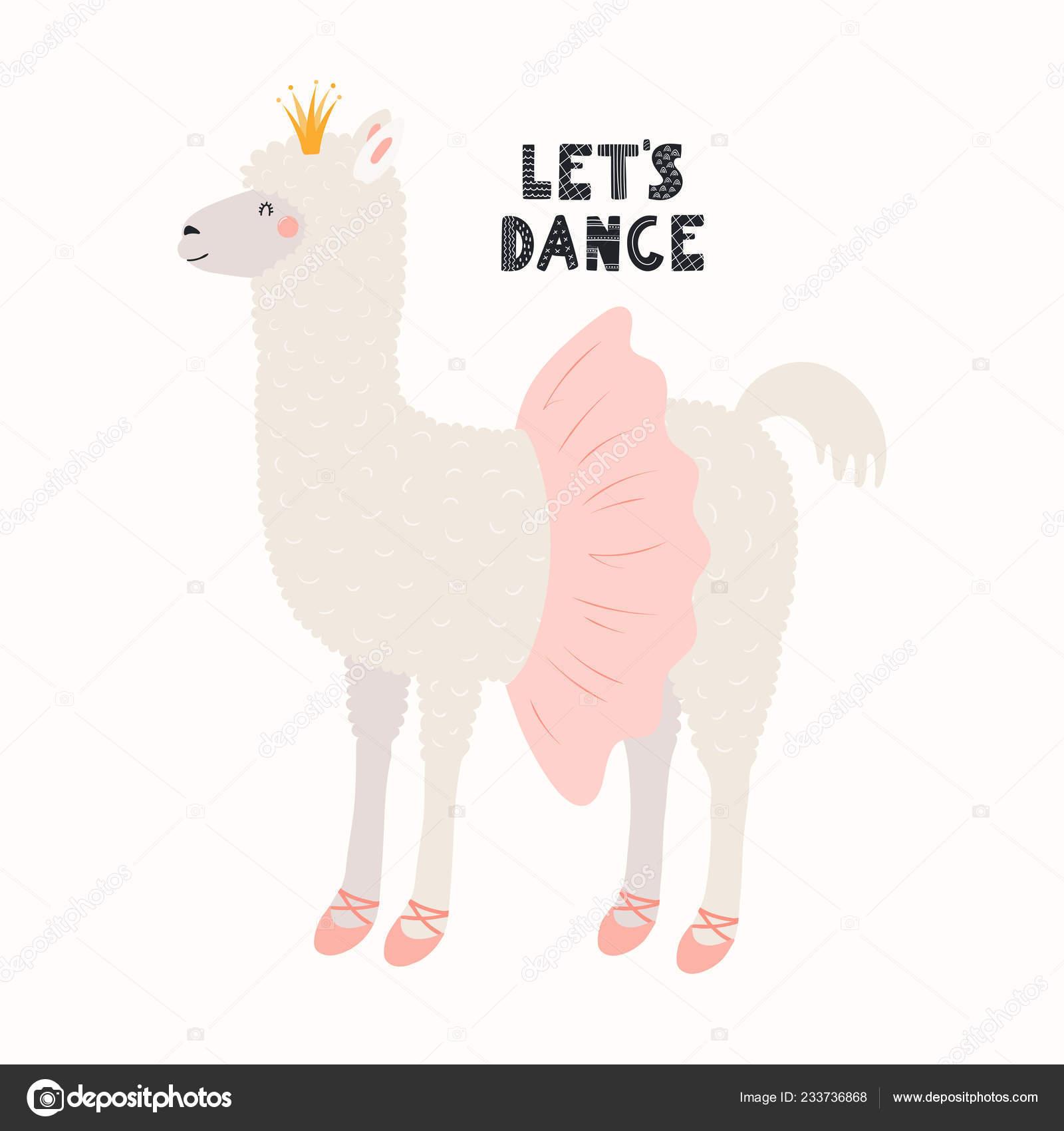 Clipart Tutu Hand Drawn Vector Illustration Cute Funny