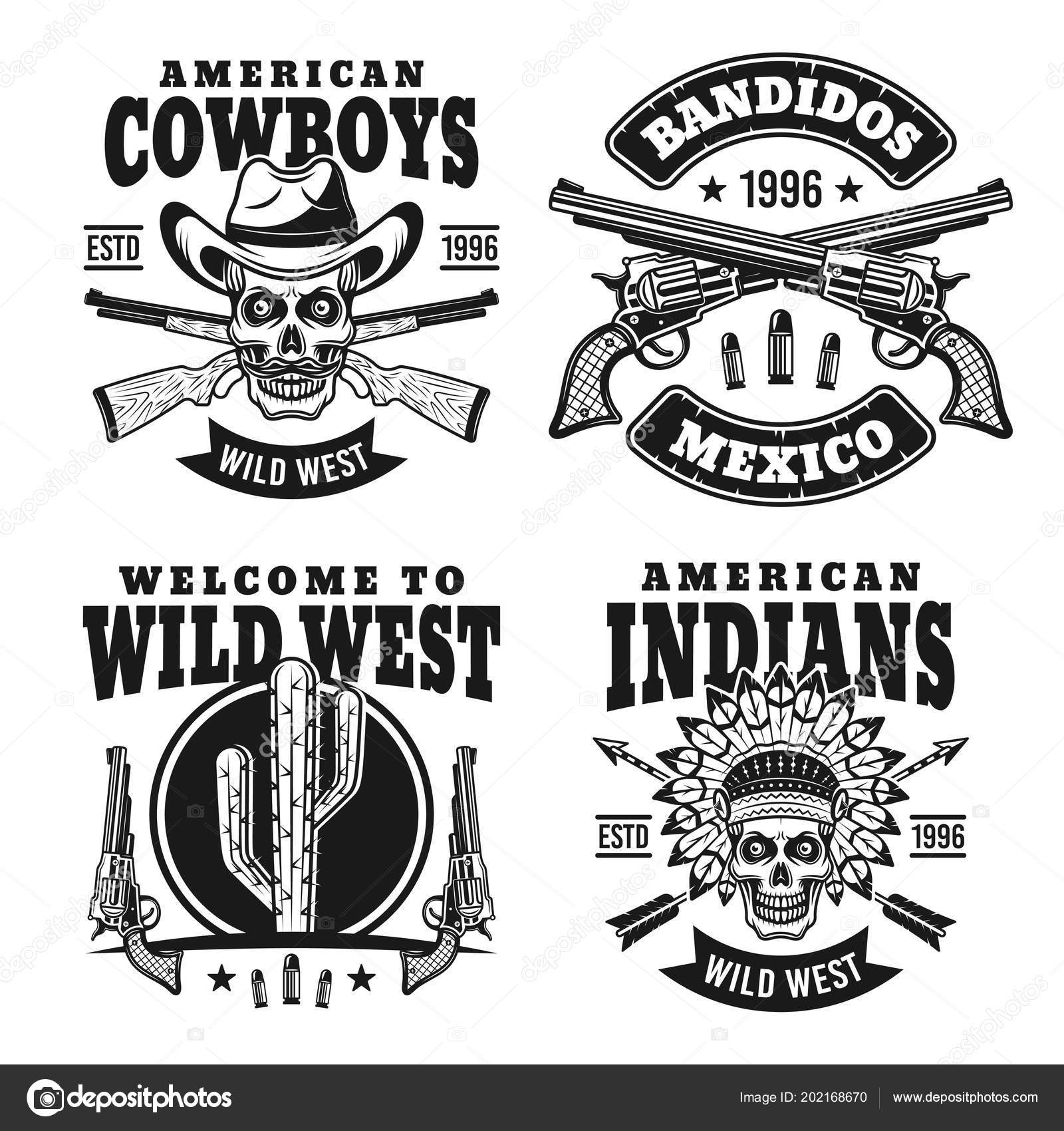 western black vector emblems badges labels vetor de stock