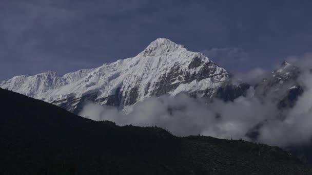 Clouds above Himalaya mountains, Nepal