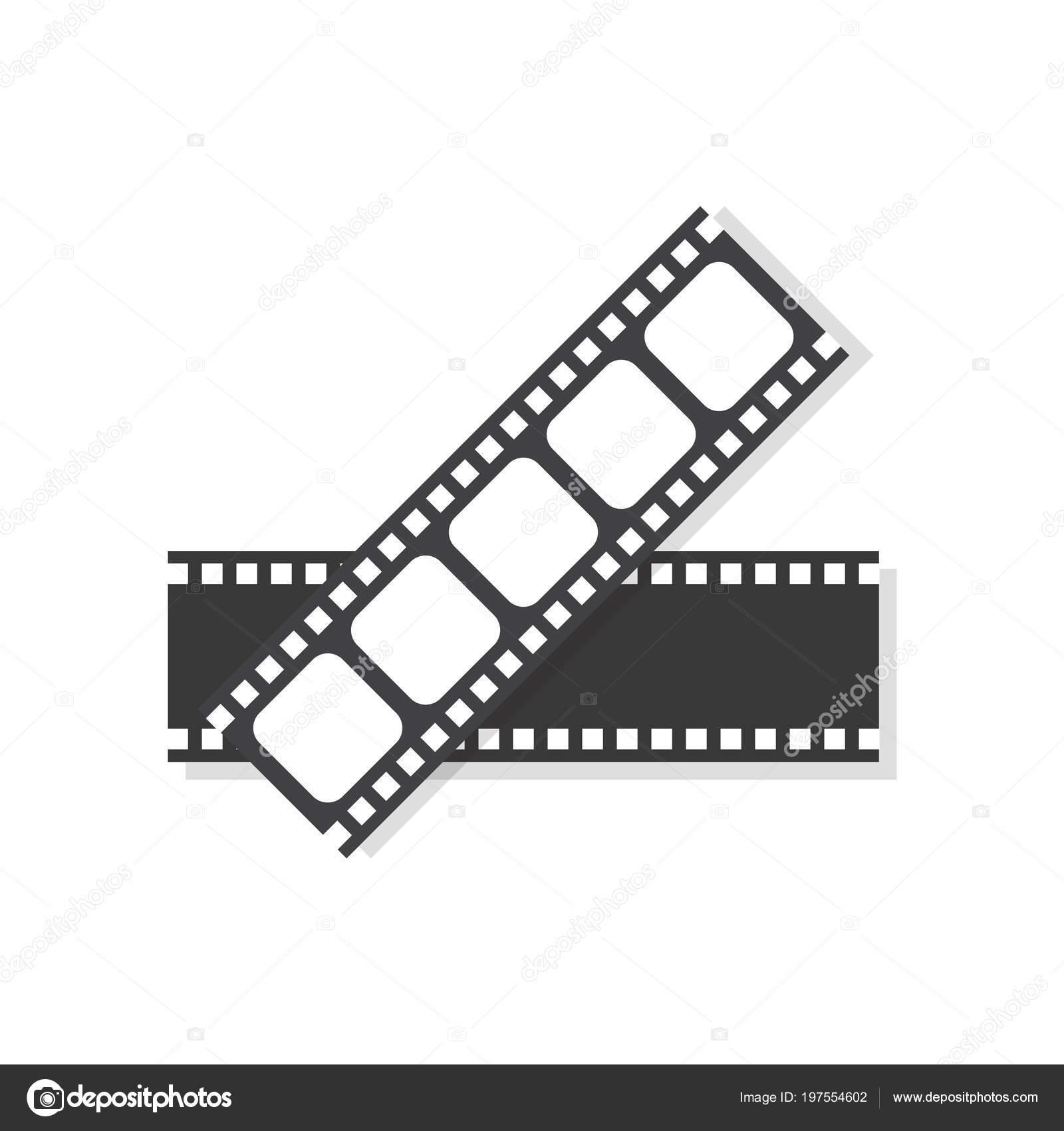 Icono Cuadro Película Película Ilustración Vector — Archivo Imágenes ...