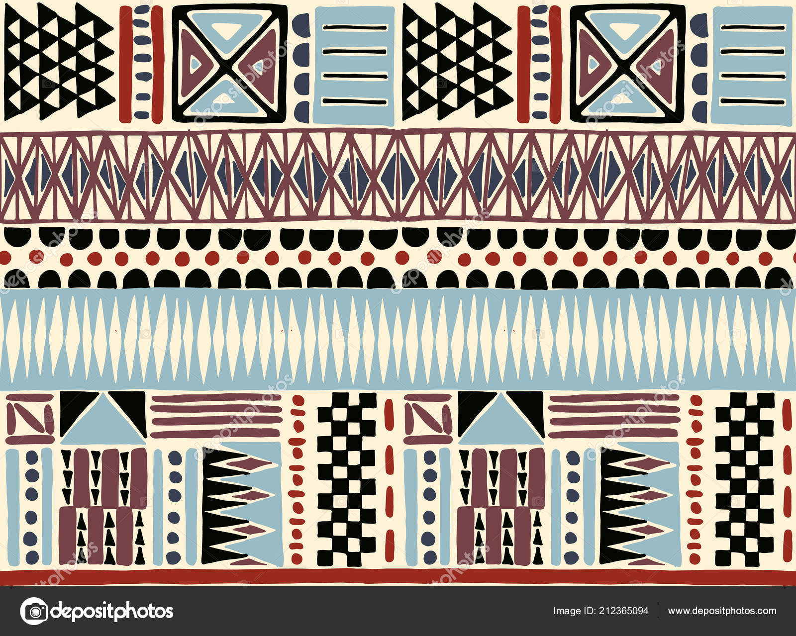 Ethnic Carpet With Chevrons. Aztec Style. Geometric Mosaic On The Tile,  Majolica. Ancient Interior. Modern Rug. Geo Print On Textile. Kente Cloth.